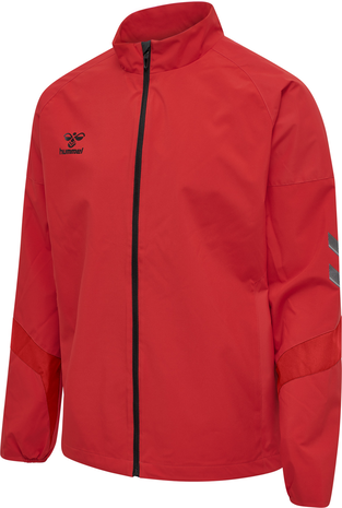 hmlLEAD TRAINING JACKET , TRUE RED, packshot