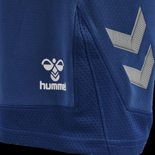 hmlLEAD POLY SHORTS, TRUE BLUE, packshot