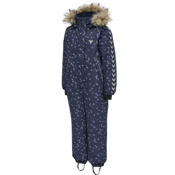 hmlICY SNOWSUIT, BLACK IRIS/MARLIN, packshot