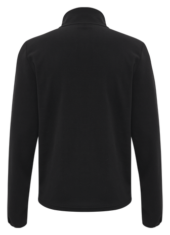 hmlNORTH FULL ZIP FLEECE JACKET, BLACK/ASPHALT, packshot