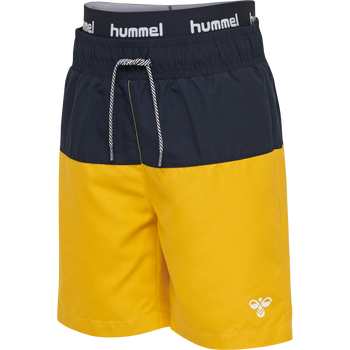 hmlGARNER BOARD SHORTS, GOLDEN ROD, packshot