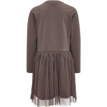 hmlMAE DRESS L/S, PEPPERCORN, packshot