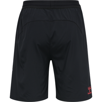 DBU PLAYER PRO WOVEN SHORTS, BLACK, packshot