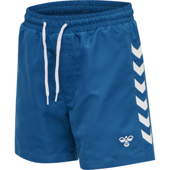 hmlDELTA BOARD SHORTS, MYKONOS BLUE, packshot