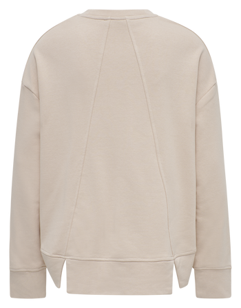 HMLPERLINA SWEAT SHIRT, DARK PEACH, packshot