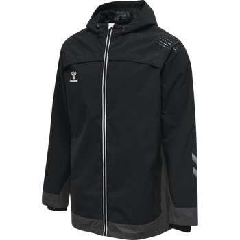 hmlLEAD ALL WEATHER JACKET , BLACK, packshot