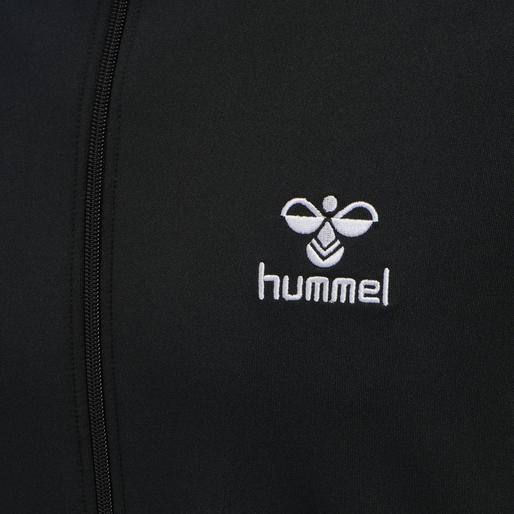 hmlNATHAN 2.0 ZIP JACKET, BLACK, packshot