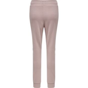 hmlLEGACY WOMAN TAPERED PANTS, WOODROSE, packshot