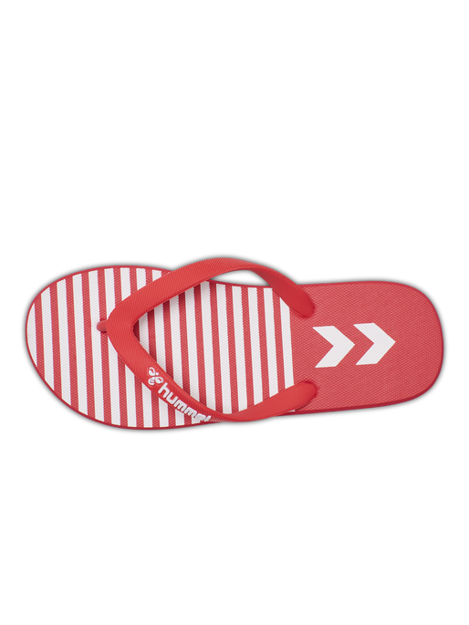 HML FLIP FLOP, HIGH RISK RED, packshot