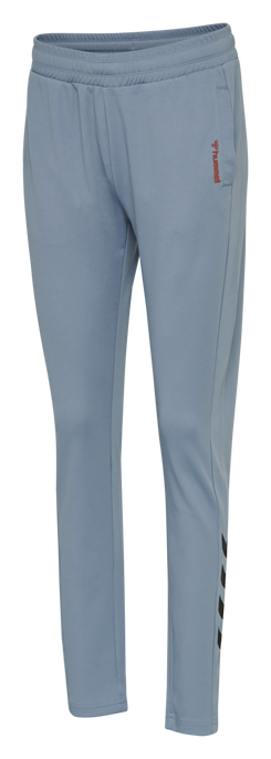 hmlZIBA TAPERED PANTS, FADED DENIM, packshot