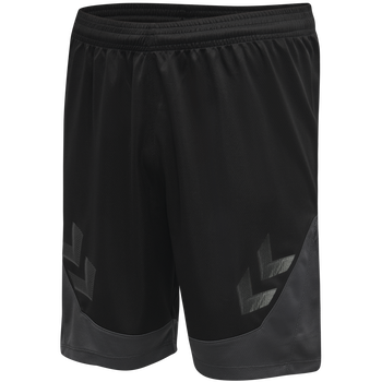 hmlLEAD POLY SHORTS KIDS , BLACK, packshot