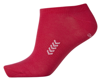 ANKLE SOCK SMU, BRIGHT ROSE/WHITE, packshot
