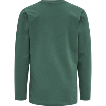 hmlOTTO T-SHIRT L/S, MALLARD GREEN, packshot