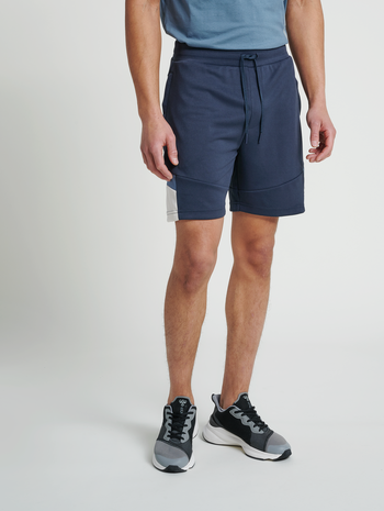 hmlALEC SHORTS, BLUE NIGHTS, model