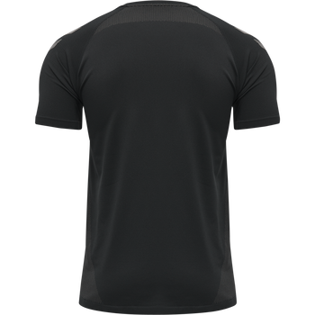 hmlLEAD PRO SEAMLESS TRAINING JERSEY, BLACK, packshot
