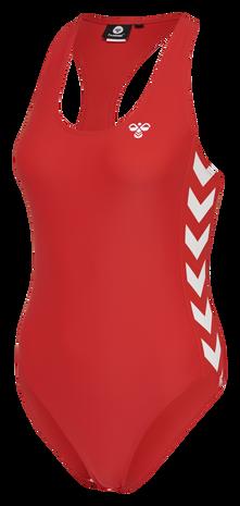 hmlDONNA SWIMSUIT, HIGH RISK RED, packshot