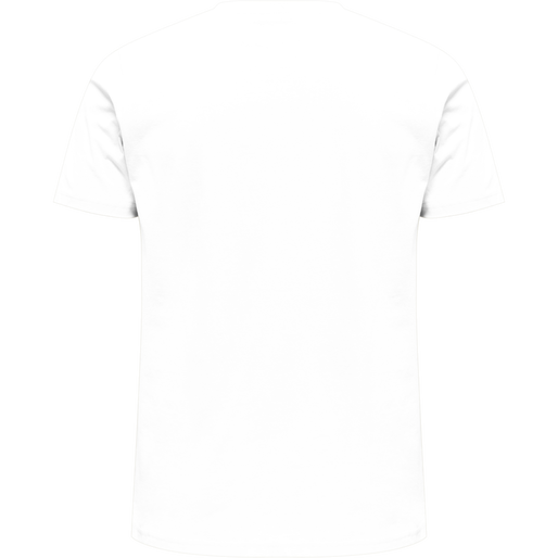 hmlLEGACY T-SHIRT, WHITE, packshot
