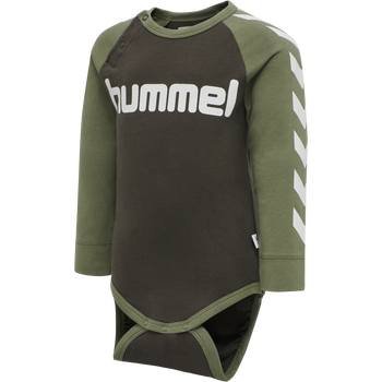 hmlRYAN BODY L/S, DEEP LICHEN GREEN, packshot