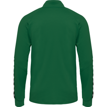 hmlAUTHENTIC POLY ZIP JACKET, EVERGREEN, packshot
