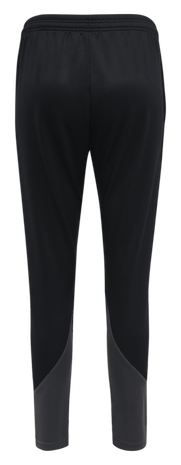 hmlACTION TRAINING PANTS WOMAN, BLACK/ASPHALT, packshot
