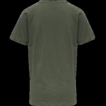 hmlZENIA T-SHIRT S/S, BEETLE, packshot