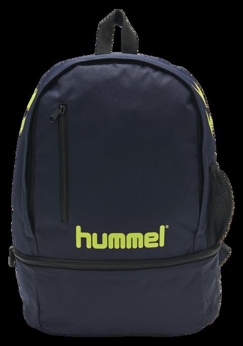 hmlACTION BACK PACK, MARINE/SAFETY YELLOW, packshot