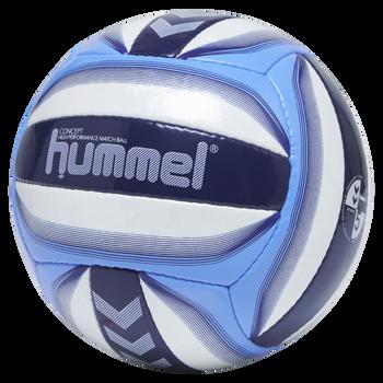 hmlCONCEPT VB, WHITE/ARGENTINA BLUE, packshot