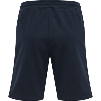 hmlACTION COTTON SHORTS WOMAN, DARK SAPPHIRE/FIESTA, packshot